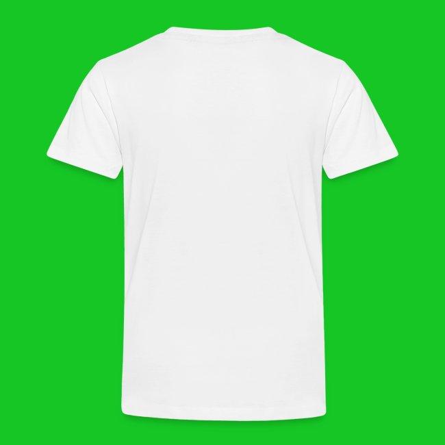 Teken je eigen poes kinder t-shirt