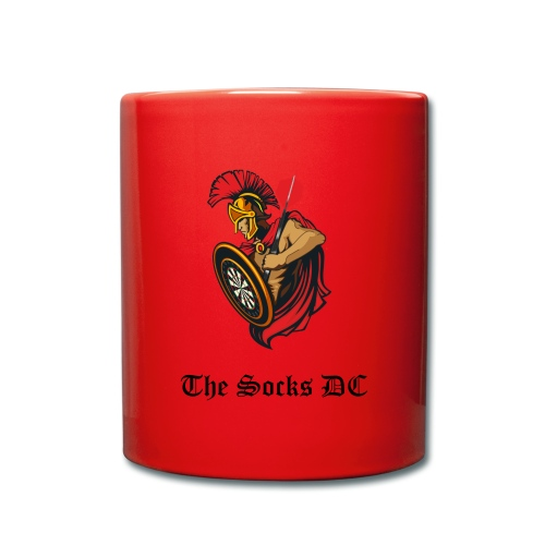 Kaffe-Becher The Socks DC rot - Tasse einfarbig