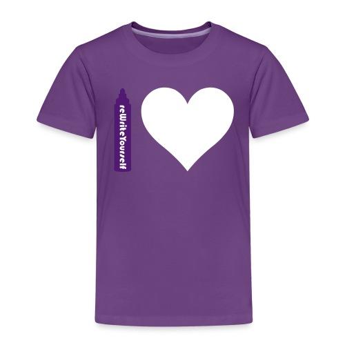 I rewrite love - Maglietta Premium per bambini