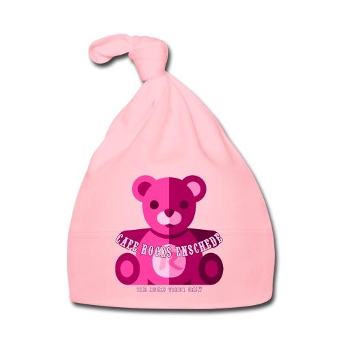 Baby Beanie - Pink Bear - Muts voor baby's