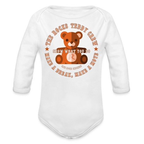 Baby Body - Brown Bear - Baby bio-rompertje met lange mouwen