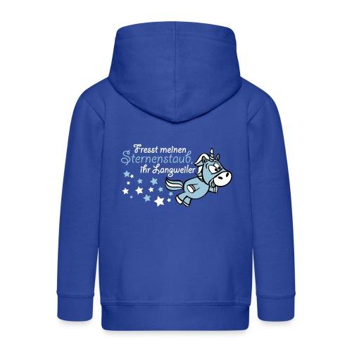 Einhorn - Sternenstaub - Kinder Premium Kapuzenjacke