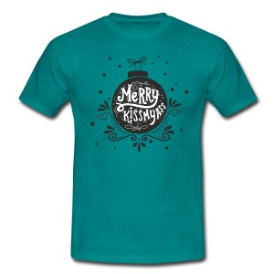 "T-Shirt Boys ""Merry kismyass"" - Männer T-Shirt"
