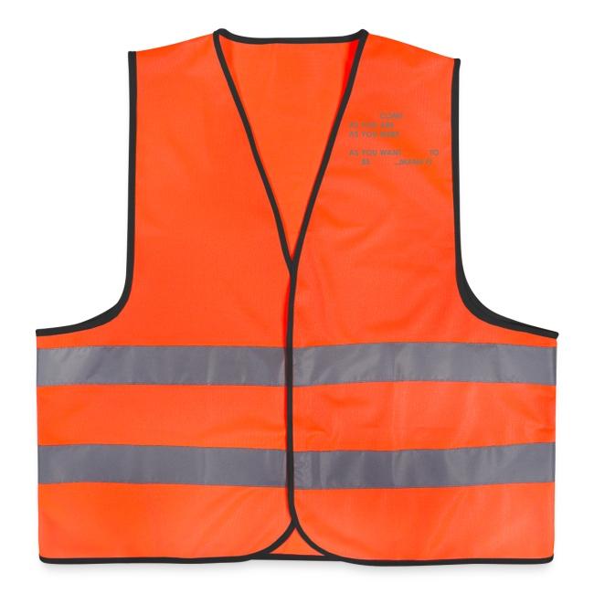 """Love you Demna"" reflective Vest."