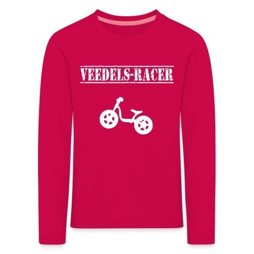 Longsleeve Kinder - Laufrad Veedels-Racer - Kinder Premium Langarmshirt