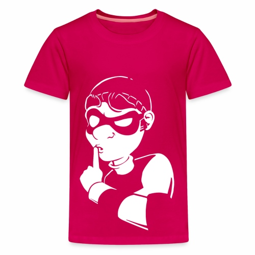 Robbery Bob Sneaky T-shirt - Teen! - Teenage Premium T-Shirt