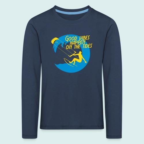 kite  - Kinderen Premium shirt met lange mouwen