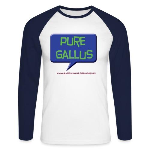 Pure gallus long sleeve - Men's Long Sleeve Baseball T-Shirt