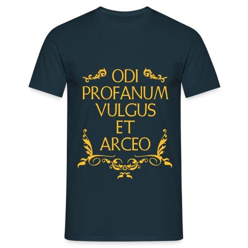 Odi Profanum Vulgus et Arceo - Maglietta da uomo