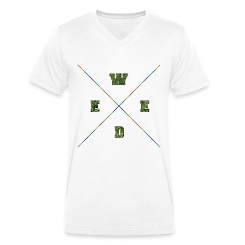 V-Neck-Weed - Männer Bio-T-Shirt mit V-Ausschnitt von Stanley & Stella