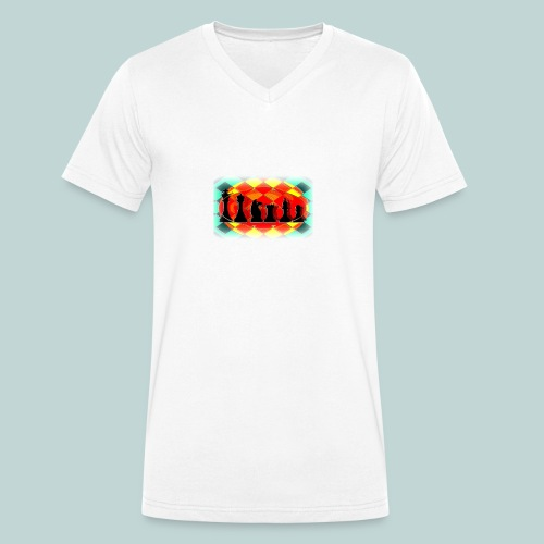 Figurensatz email - Männer Bio-T-Shirt mit V-Ausschnitt von Stanley & Stella