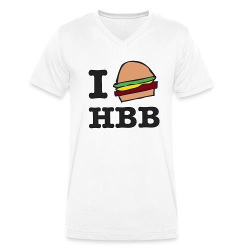 HBB classic Hambassador Tee (Heren) - Mannen bio T-shirt met V-hals van Stanley & Stella