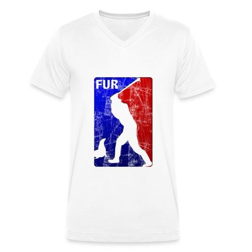 FUR - Männer Bio-T-Shirt mit V-Ausschnitt von Stanley & Stella
