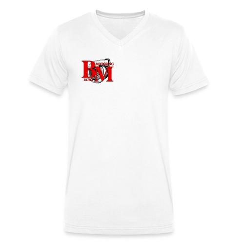 Boba-Motoring V-Fan-Shirt beidseitig bedruckt - Männer Bio-T-Shirt mit V-Ausschnitt von Stanley & Stella