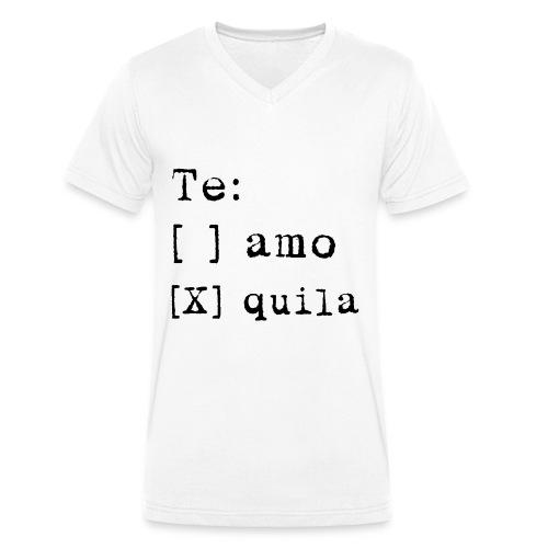 Tequila Shirt V-Neck - Männer Bio-T-Shirt mit V-Ausschnitt von Stanley & Stella
