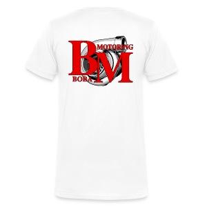Boba-Motoring V-Fan-Shirt Rückseite - Männer Bio-T-Shirt mit V-Ausschnitt von Stanley & Stella