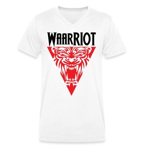WaarRIOT - Männer Bio-T-Shirt mit V-Ausschnitt von Stanley & Stella