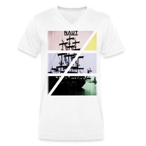 Naut-Ship - Männer Bio-T-Shirt mit V-Ausschnitt von Stanley & Stella