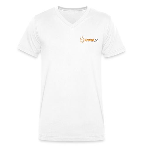 Herren TShirt Logo Front - Männer Bio-T-Shirt mit V-Ausschnitt von Stanley & Stella