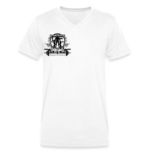 Swole Crew v2 Vneck - Men's Organic V-Neck T-Shirt by Stanley & Stella