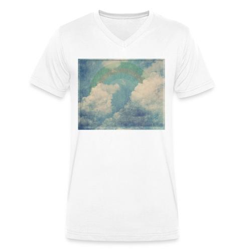 dreamy clouds II - Männer Bio-T-Shirt mit V-Ausschnitt von Stanley & Stella