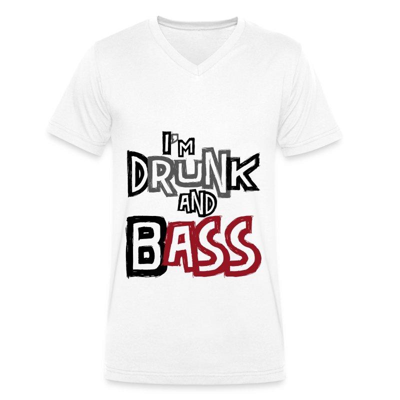 I'm Drunk & Bass - T-shirt bio col V Stanley & Stella Homme
