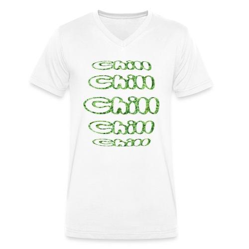 Chill Chill Chill - T-shirt bio col V Stanley & Stella Homme
