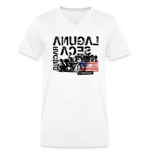 Laguna Seca - T-shirt bio col V Stanley & Stella Homme
