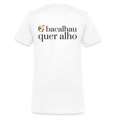T-shirt Col V - O bacalhau quer alho - T-shirt bio col V Stanley & Stella Homme