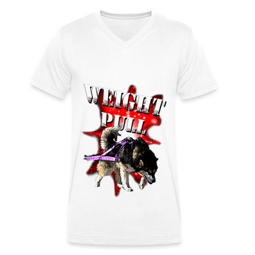Aniu WP Special - Økologisk Stanley & Stella T-shirt med V-udskæring til herrer