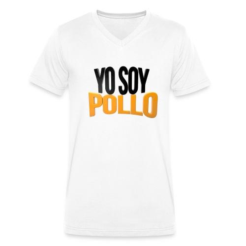Yo Soy Pollo V-Neck - Camiseta ecológica hombre con cuello de pico de Stanley & Stella