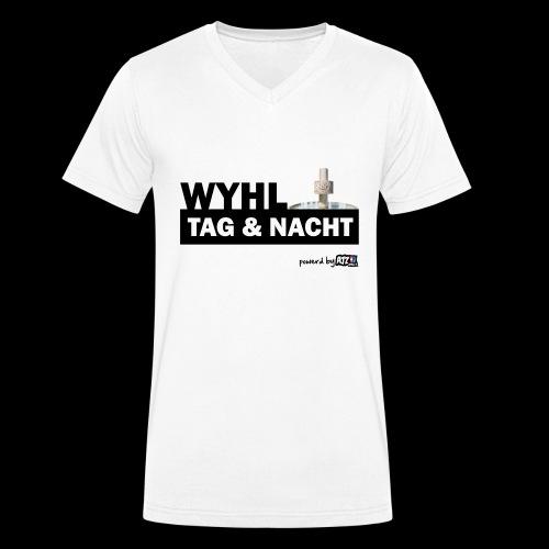 Wyhl Tag und Nacht - Männer Bio-T-Shirt mit V-Ausschnitt von Stanley & Stella