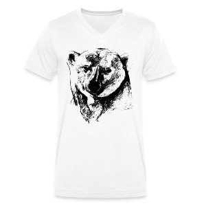 T-Shirt Homme Ours Polaire - T-shirt bio col V Stanley & Stella Homme