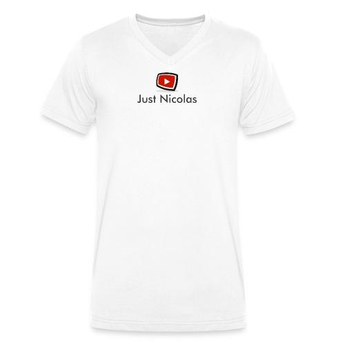 """T-Shirt col V """"Just Nicolas"""" - T-shirt bio col V Stanley & Stella Homme"""
