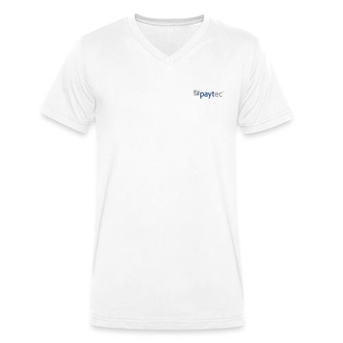 pay-tec.de body - Männer Bio-T-Shirt mit V-Ausschnitt von Stanley & Stella