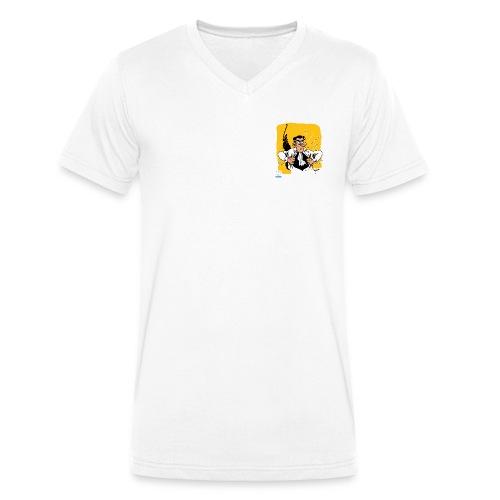 Super Avocat ! - T-shirt bio col V Stanley & Stella Homme