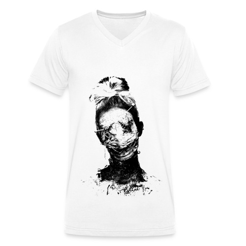 Ellimacs Voodoo - Men's Organic V-Neck T-Shirt by Stanley & Stella