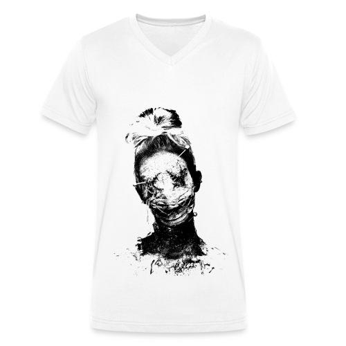 Ellimacs Voodoo - Men's Organic V-Neck T-Shirt by Stanley & Stella