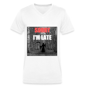 Sorry I'm late - T-shirt bio col V Stanley & Stella Homme