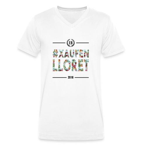 """€B T-Shirt """"Lloret 2016"""" - Männer Bio-T-Shirt mit V-Ausschnitt von Stanley & Stella"""