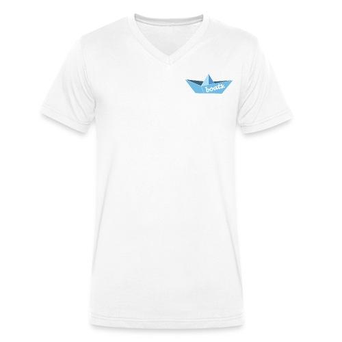 boats. v-shirt #1 - Männer Bio-T-Shirt mit V-Ausschnitt von Stanley & Stella