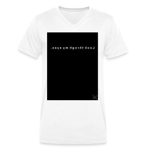 Look through my Eyes. - Männer Bio-T-Shirt mit V-Ausschnitt von Stanley & Stella