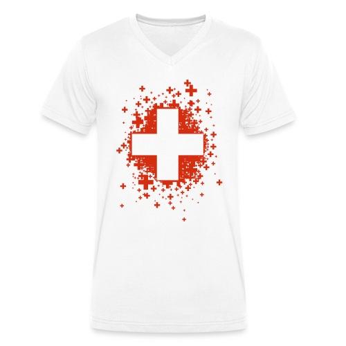 Swiss Stars - T-shirt bio col V Stanley & Stella Homme
