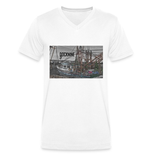 DOCK NINE BOAT - Männer Bio-T-Shirt mit V-Ausschnitt von Stanley & Stella