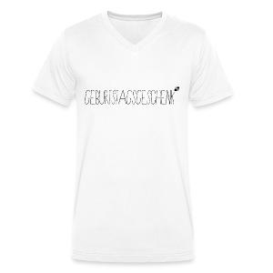 Geburtstagsgeschenk - Männer Bio-T-Shirt mit V-Ausschnitt von Stanley & Stella