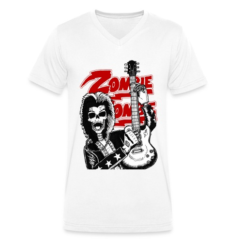 Zombie Zombie men v neck tee - T-shirt bio col V Stanley & Stella Homme