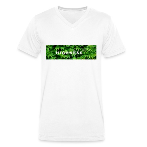 T-Shirt WEED by HIGHNESS (recommended) - T-shirt bio col V Stanley & Stella Homme
