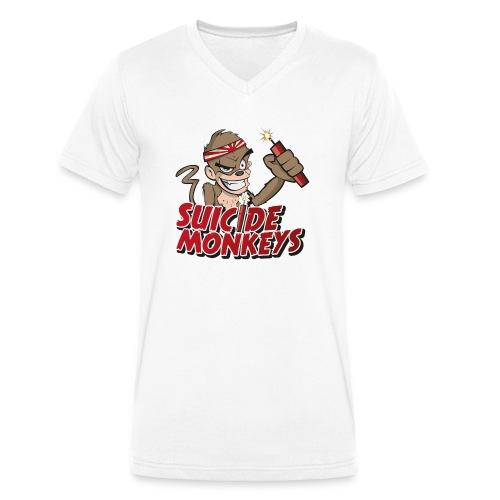 V-Shirt Plane - Männer Bio-T-Shirt mit V-Ausschnitt von Stanley & Stella