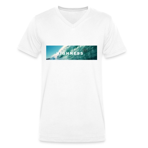 T-Shirt Water by HIGHNESS (recommended) - T-shirt bio col V Stanley & Stella Homme