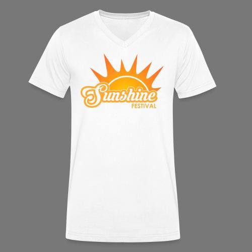 Sunshine Festival T-Shirt - Männer Bio-T-Shirt mit V-Ausschnitt von Stanley & Stella